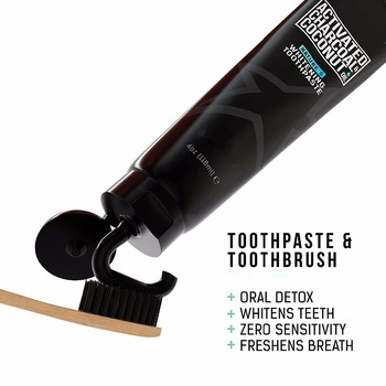 Oem Odm Organic Activated Charcoal Coconut Oil Teeth Whitening