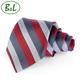 High quality promotional three color twill silk ties men neck tie
