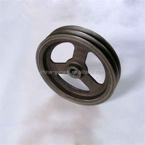 Hot Sales Factory Cheap Price Cast Iron Grooved Pulley Belt Pulley