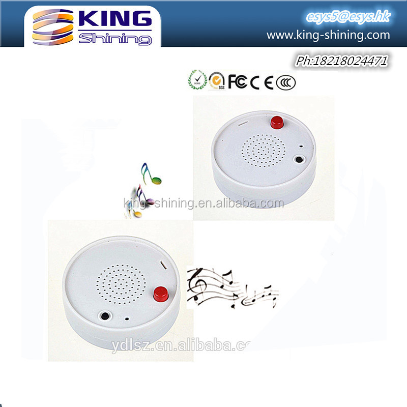 Motion sensor recordable sound module box for talking gifts