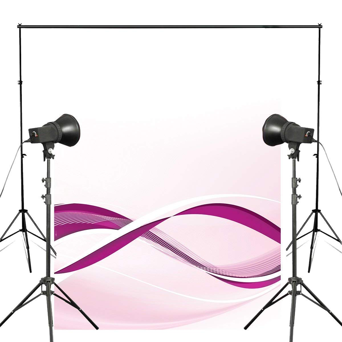 ERTIANANG Flow line Image Background Photography Purple Photography Backdrops Art Photo Studio Background 5x7ft