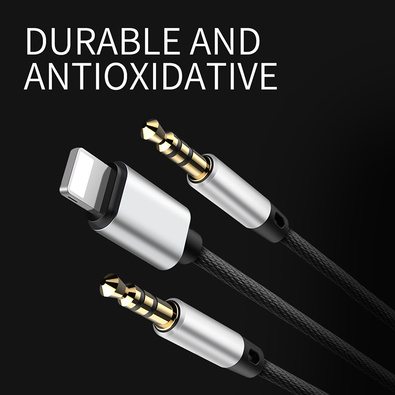 Baseus L33 Aux Audio ip+3.5 mm to 3.5 mm