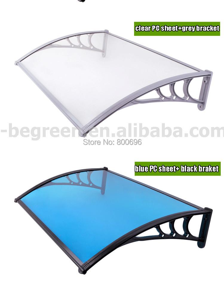 100 cm x 200 cm combinaison awned auvent transparent balcon awned abri pare soleil fen tre de. Black Bedroom Furniture Sets. Home Design Ideas