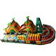 adult wipe out adult inflatable obstacle course for sale/giant inflatable bouncer obstacle for kids