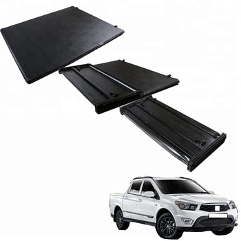 Pvc Fold Lock Vinyl Soft Tri Fold Tonneau Cover For Ssangyong Roll Up Truck Bed Cover Buy Ssangyong Soft Tri Fold Tonneau Cover For Ssangyong Ssangyong Truck Bed Cover Product On Alibaba Com