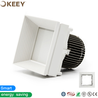KEEY 2018 hot sale square led downlight WB0702W trimless led downlight 7w led downlight