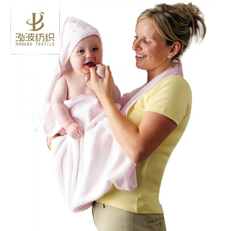 factory China super absorbent baby towel apron baby bath towel apron