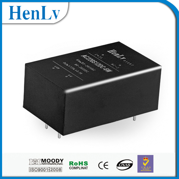 AC-DC power module Isolated and regulated 220v to 3.3v 12v 24v 48v converter supply