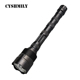 CYSHMILY High Power Emergency Hunting 3*T6 Flashlight LED Focus Long Range Rechargeable Torch
