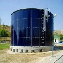 China low cost big biogas digester regulating tank for sale