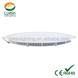240*20mm 18w 225mm cut size 500ma 5years warranty recessed round led ceiling light commercial light led panel down light