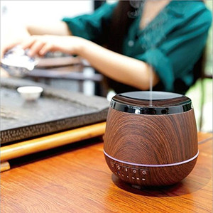 Hidly 200ml Ultrasonic Aroma Diffuser with Bluetooth Speaker, Lotus Shape LED, Natural Fragrance Air Humidifier for Office