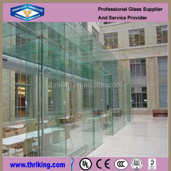 Thriking glass tempered/Heat soak glass for building