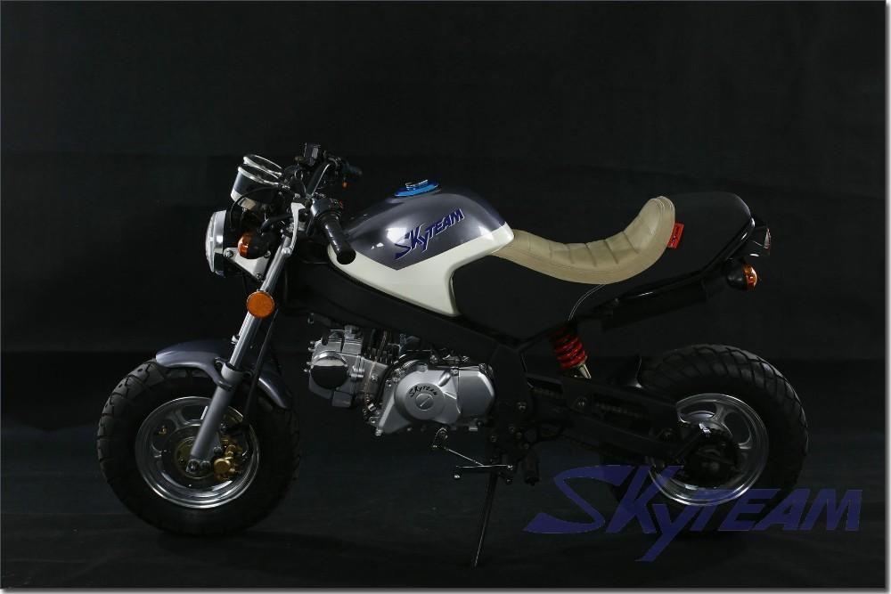 skyteam 50cc 4 stroke new cafe pbr msx ksr style bike zb50. Black Bedroom Furniture Sets. Home Design Ideas