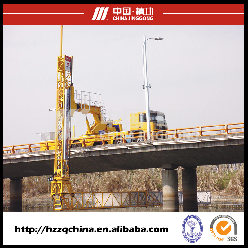 JINGGONG Platform type 420HP bridge inspection vehicles