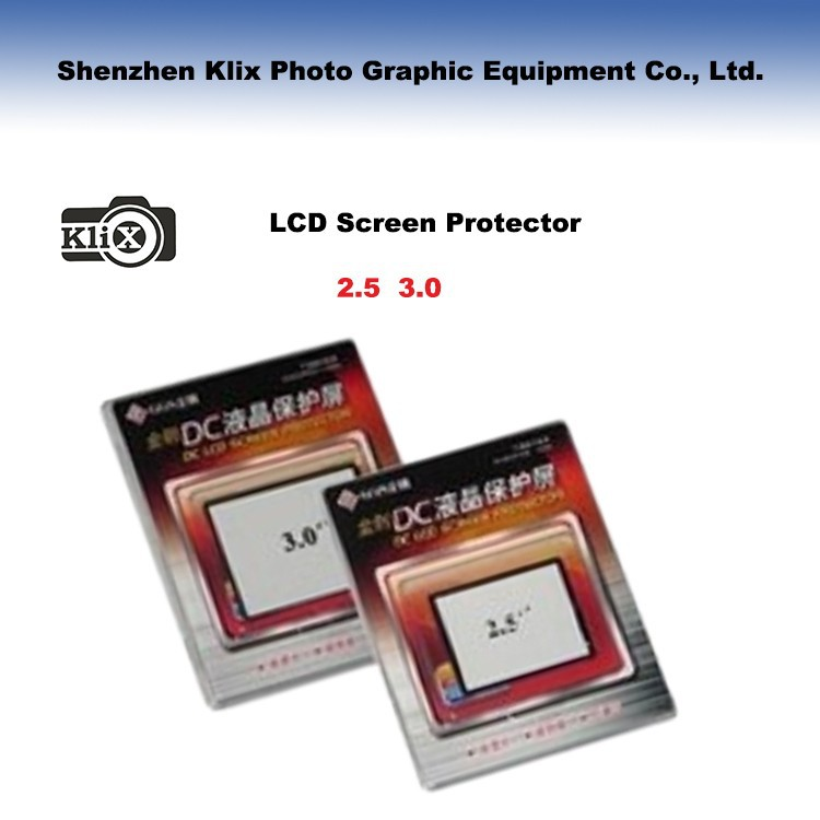 High quality GGS D3100 camera tempered glass LCD screen protectors