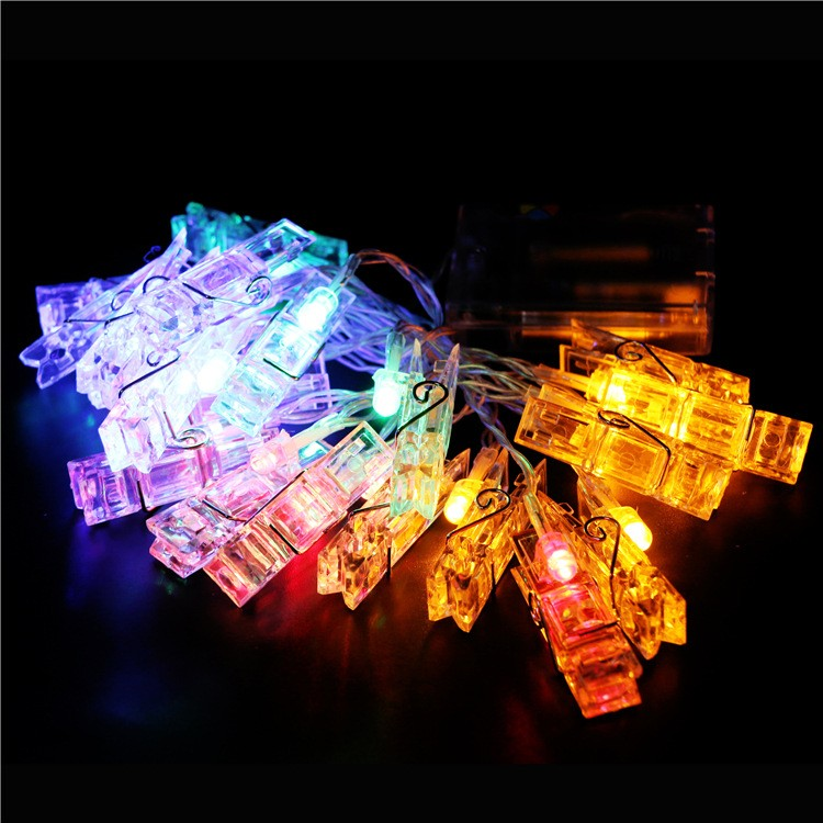 Clips For String Lights : Clips LED Copper Wire String Lights LED Photo Clip String Lights