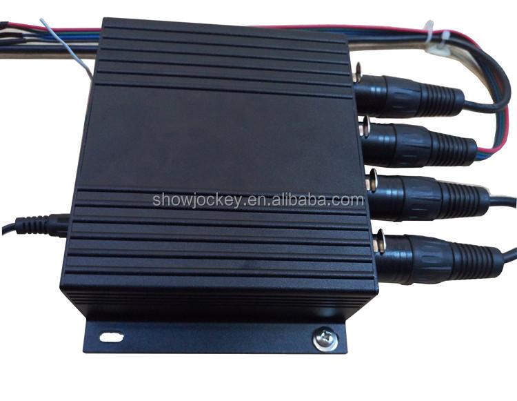 4พอร์ตSDการ์ดควบคุมdmx512 T8000A RGBนำตัวควบคุมพิกเซลกับ4*1024พิกเซลกับsd ca