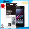 Anti-shatter screen film for sony xperia z screen protector film roll usb toch screen
