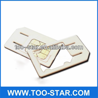 SD Micro Sim Card Adapter Inner Exquisite Paper Box Packing