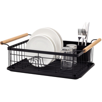 New PP Plastic dish drying Rack stainless steel kitchen storage rack