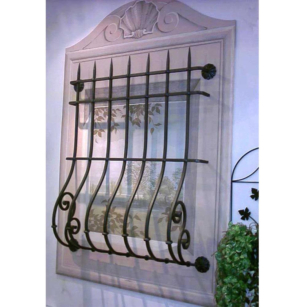 Decorative Wrought Iron Window Grills 6
