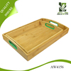 New design food grade fashion bamboo tray With Stable Function