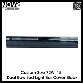 Black cover led light bar plastic cover bar lens view led light black cover led light bar plastic cover bar lens mozeypictures Gallery
