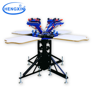 2013 newest precision flat screen printer CD silk screen printer