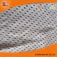 Supply breathable bird eye mesh fabric for making clothing