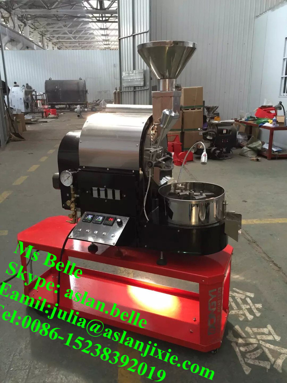 Shop Commercial High Quality 20kg Toper Coffee Roaster With Dust ...
