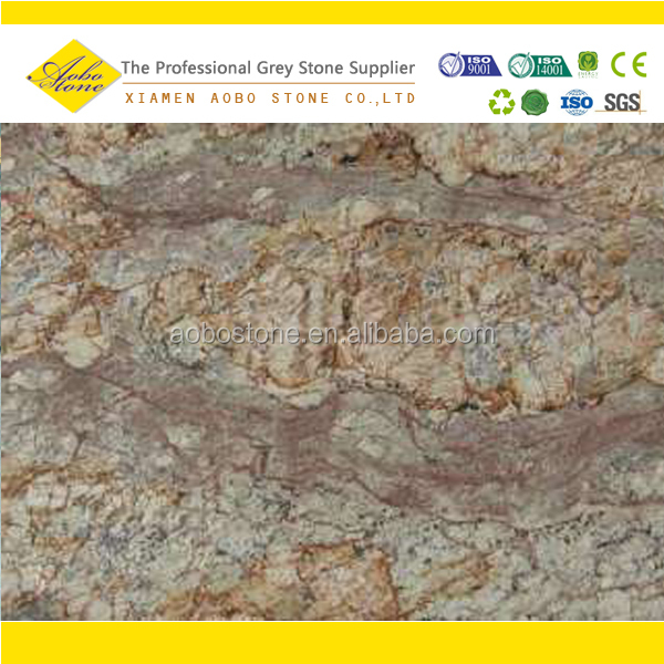 Crema Typhoon Granite: Typhoon Bordeaux Granite Slabs,Brazil Crema Bordeaux