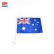 Wholesale Polyester 30X45cm Australia Car Flags with c clip window flag