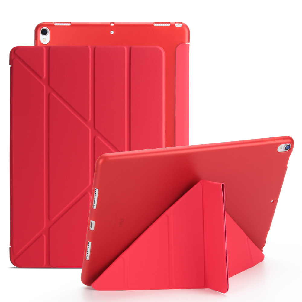 Auto-wake/sleep pu leather case for <strong>ipad</strong> case for <strong>ipad</strong> 9.7 flip smart cover kickstand case for <strong>ipad</strong> pro 10.5