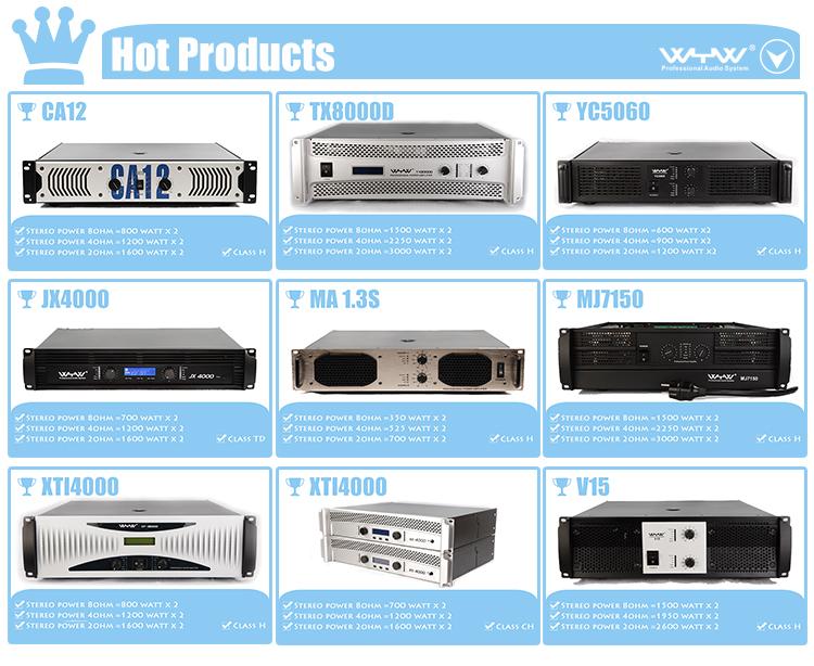 Sound Standard Ca 20 Power Amplifier 1300 Watts X 2