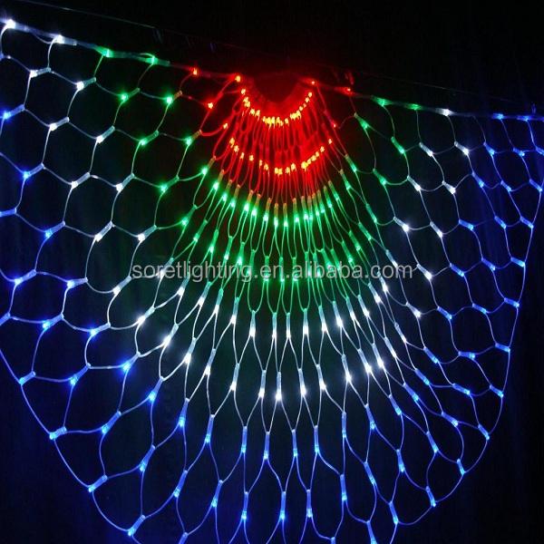 110v-240v Memory Waterproof Led Net Light Decorative Mesh Fairy String Light - Buy Multi Color ...