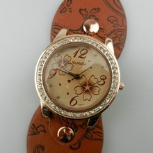 China supplier wrist watch manufacturer as gift to women