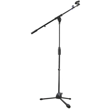 Mic stand GH-206 alle metalen mobiele microfoon stand met knop verstelbare microfoon stand