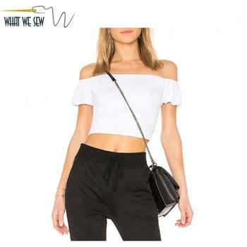 76a931612c4 Custom Organic Cotton Ladies Crop Top Fitness Cropped Tank Top Women White  Crop Top Sexy