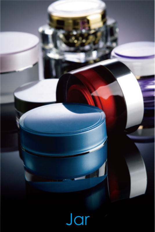 (ZIN) All size 5ml to 300ml cosmetic plastic jar with lid