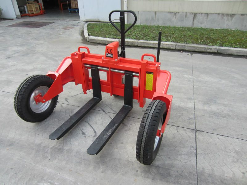 Hydraulic Drive Mode Rough Terrain Hand Pallet Truck--RTT12 Made In China