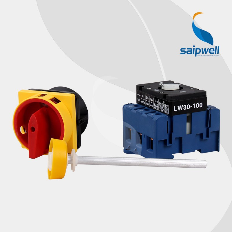 LW30 Series Spring Return Rotary Switch 20A~100A
