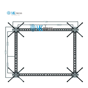 Tradeshow and Events Truss/Apex Mobile Stage truss