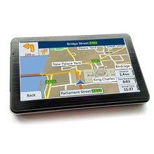 "7 ""HD RAM128MB Built-In 4G Mappa 3D Lettore MP4 <span class=keywords><strong>Auto</strong></span> Pista di Navigazione GPS Navigator Nav GPS"