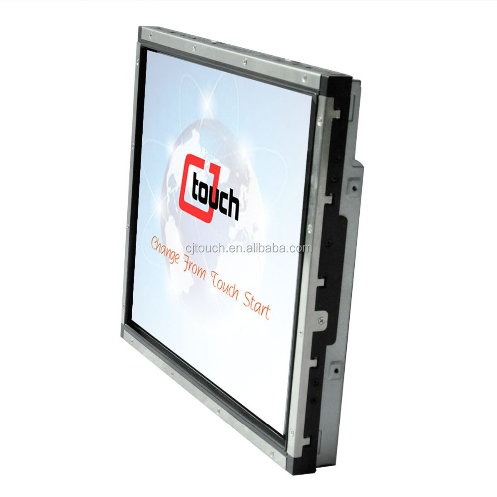 COT150E-AWF03/COT150E-AWF02 15 inch industial monitor for vandal-proof saw touch screen lcd/led monitor 15 inch open frame touch