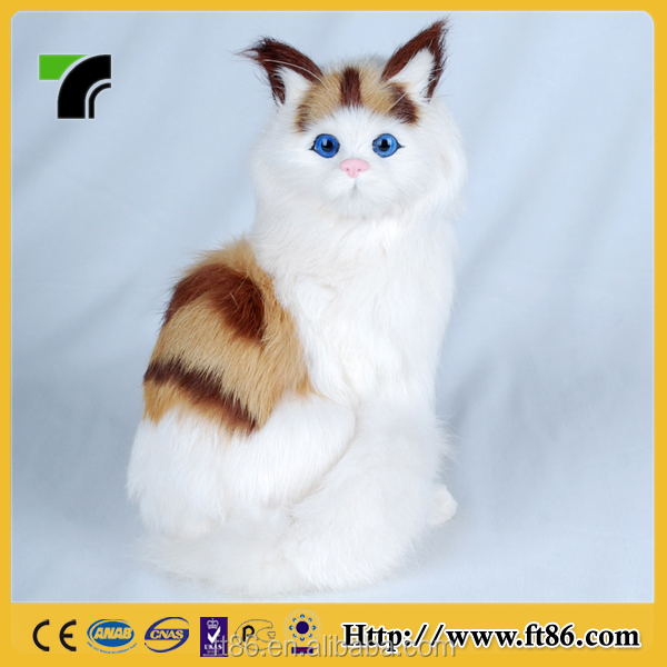 plush decoration cat wholesale animated toy cat