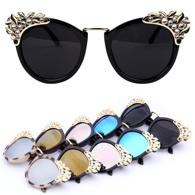 a49f20a02e3e bitterrootpubliclibrary.org   Buy New 2015 Women Luxury Brand Sunglasses  Jewelry Sun glasses Flower .