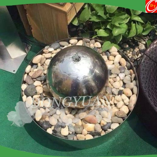 Rust Proof Silver Ball Water Feature
