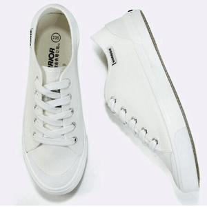 blanche Chaussures design chaussures de unie toile RwqTYwC