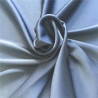 high quality colorful soft double sided duchess stretch satin silk fabric